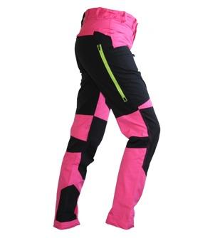 Stretch pants LADY Black/Pink