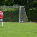 boll mot mål