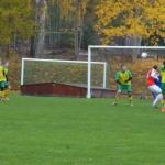 frisparksboll mot mål
