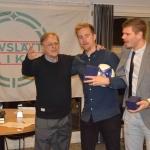 robin waern och daniel johansson prisades för mesta spelare med 23 matcher under året