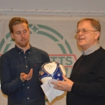 robin waerns son hjalmar fick priset som årets nyförv