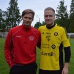 philip fredriksson med sin kusin från landet, Anton Burken Gillek