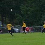 0-1 en boll som linus lyck lyfter över keepern
