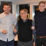 Daniel Johansson och Emil Rygert var Årets Meste Spelare med 22 matcher vardera