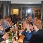 Simon Meijer sprider stor glädje kring bordsgrannarna
