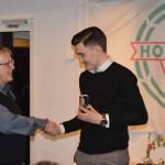 Årets skyttekung med 17 mål - Linus Lyck