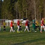 inmarsch till årets premiärmatch på Hovet
