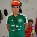 Man of the Match Emil Elfström