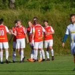 johan fransson gratuleras för 3-1