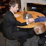 Emil Rygert har Alexander Wallinder i gungning i fighten om träningspriset