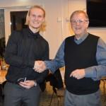 Oskar Beverin vann Årets Räddning