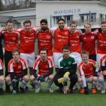 Den rödvita truppen på träningsläger i Borås