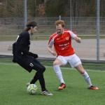 Fredrik Nilsson lyckas med en tunnel