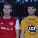 Matchens lirare Elias Larsson och Alexander Oliva