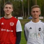 Matchens lirare - Isac Alm och Philip Sandolf