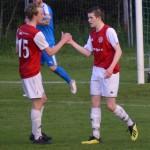 Alexander von Porat grattar William Axelsson till målet
