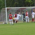 1-1 målet och Samuel Andersson får kröka rygg