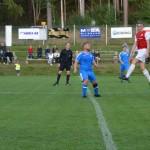 fotbollsfest på hovet