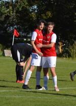 Johan Fransson kramar om enda rödvita målskytten - Linus Lyck
