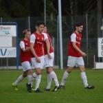 12 4-0 säker halvtidsledning i derbyt