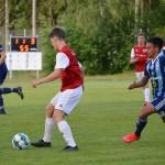 En av sju juniorer som var med i Rött å Vitt - Hampus Bäck