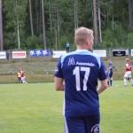 Linus Torstensson på väg att komma in på sin gamla hemmaarena