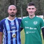 Matchens lirare Malek Iskander och Daniel Alm