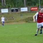 Fredrik Nilsson var tillbaka i den rödvita tröjan