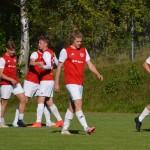 william axelsson gratuleras för 2-1 målet