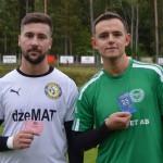 Ensar Hamza och Emil Elfström utsågs till bästa spelare i respektive lag