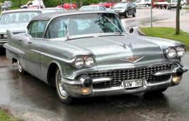 Nisse och Anettes Cadillac -58