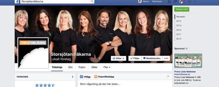 Storsjötandläkarna facebookbild