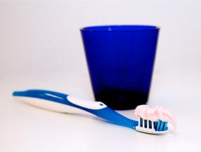 Tandläkare Katja Edling tandborste