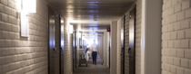Bets Western Hotell Ett korridor