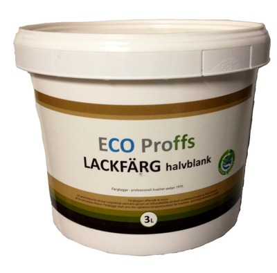 Eco Proffs Lackfärg - Eco Proffs Lackfärg, H-Blank 1 L