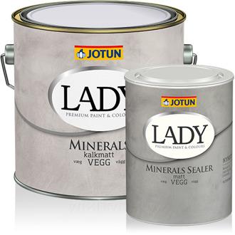 lady minerlas färgburkar