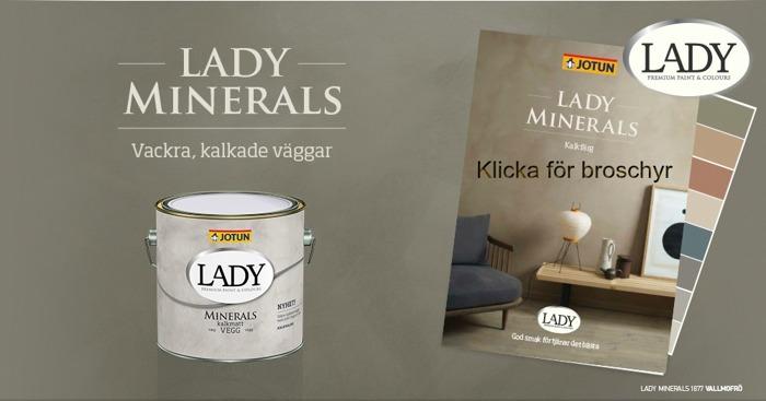 Lady minerals kalkfärg