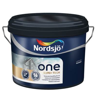 Nordsjö One Supertech - Nordsjö One Supertech 10L - Vit