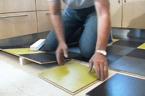 Lägg golv