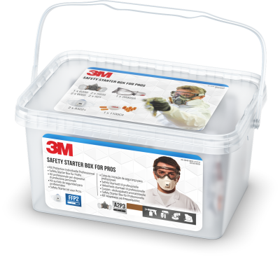3M Safety Starter Box - FFP3 - 3M Safety Starter Box - FFP3