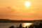 Solnedgång över varberg
