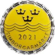 Simborgarmärket - 2021