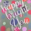 Anteckningsbok Be Happy