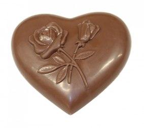 Chokladhjärta - 40% Kakao - Ljus Choklad