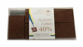 Pralinhuset - Cards - 40% Kakao - Ljus Choklad