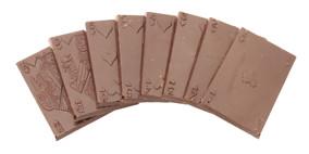 Pralinhuset - Cards - 70% Kakao - Mörk Choklad