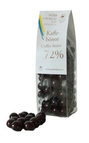 Pralinhuset - Kaffebönor - Mörk Choklad