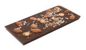 Pralinhuset - 70% Kakao - Mandel & Havssalt - Sockerfri - Sockerfri - Mörk Choklad