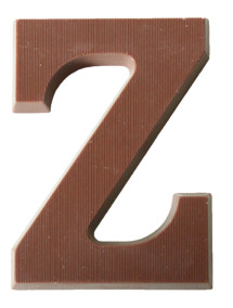Pralinhuset - Bokstäver – Z