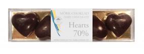Pralinhuset – Hearts - 70% Kakao - 70% Kakao